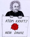 Cartoon: No Nuke (small) by paolo lombardi tagged germany