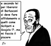 Cartoon: uomini o caporali (small) by paolo lombardi tagged italy,berlusconi,politics