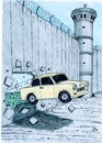 Cartoon: Wall Anniversary (small) by paolo lombardi tagged berlin palestine germany politics satire