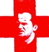 Cartoon: Waney Rooney (small) by paolo lombardi tagged soccerportraitscollection,england,flag,southafrica,worldcup2010,soccer,football