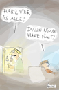 Cartoon: Hartz IV am Ende? (small) by fussel tagged hartz,iv,am,ende,alle