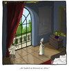 Cartoon: Spring in the Vatican (small) by fussel tagged papst,pope,spring,mini,skirt,minirock,frühling