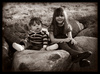 Cartoon: First Photoshoot (small) by Krinisty tagged kids,family,krinisty,art,photography