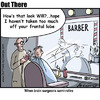 Cartoon: brain surgeon (small) by George tagged brain,surgeon