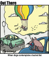 Cartoon: bucket list (small) by George tagged bucket,list