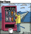 Cartoon: done fishing (small) by George tagged done,fishing
