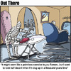 Cartoon: ironing in the crypt (small) by George tagged ironing,in,the,crypt