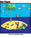 Cartoon: poke stop (small) by George tagged poke,stop
