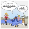 Cartoon: Bordsteinschwalbe (small) by Timo Essner tagged hafen,meer,promenade,hafenpromenade,rotlicht,rotlichtmilieu,bordsteinschwalbe,möwe,möwen,cartoon,timo,essner
