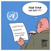 Cartoon: UN Millennium Climate Goals (small) by Timo Essner tagged un,uno,millennium,climate,goal,summit,conference,decleration,economy,global,warming