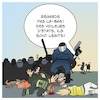 Cartoon: Violence de la police en France (small) by Timo Essner tagged police violence france gilets jaunes onu macron eu ue cartoon timo essner