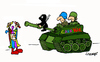 Cartoon: CarniWar (small) by Carma tagged carnival,war,party,terrorism,conflicts,charlie,hebdo