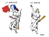 Cartoon: France 2015 (small) by Carma tagged frnce,eleccions,le,pen