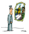 Cartoon: Mirror (small) by Carma tagged memorial,day
