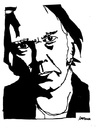 Cartoon: Neil Young (small) by Carma tagged neil young music celebrities rock