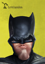 Cartoon: Batman (small) by Rüsselhase tagged batman,benaffleck,superman