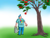Cartoon: applemicro (small) by kotrha tagged windows,apple,mac,operation,systems