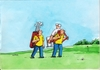 Cartoon: golfnosic (small) by kotrha tagged humor
