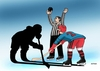Cartoon: tienohok (small) by kotrha tagged ice,hockey