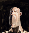 Cartoon: Bruce Willis (small) by kurtsatiriko tagged bruce,willis,caricature