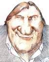Cartoon: Gerard (small) by kurtsatiriko tagged depardieu