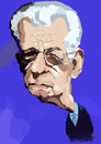 Cartoon: Mario Monti (small) by kurtsatiriko tagged mario,monti,caricature
