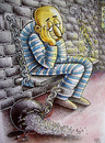 Cartoon: convict (small) by kotbas tagged prison,convict,hope