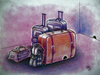 Cartoon: reisen-travel (small) by kotbas tagged koffer,reise,maus