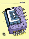 Cartoon: zuckerbook (small) by kotbas tagged world tacebook