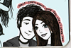 Cartoon: maps (small) by naths tagged love,couple,cute