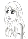 Cartoon: mininha (small) by naths tagged girl
