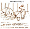 Cartoon: Auf der Flucht. (small) by puvo tagged bear,bär,zoo,flucht,escape,wärter,keeper,cage,käfig