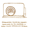 Cartoon: Hypnose. (small) by puvo tagged hamster,hypnose,hypnotiseur,käfig,cage,freiheit,animal,tier,haustier,pet,nagetier,nager,freedom,rodent,rad,wheel,laufrad,spirale,spiral,optische,täuschung,optical,illusion