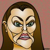 Cartoon: Sarah Hanson-Young (small) by KEOGH tagged sarah,hanson,young,caricature,australia,keogh,cartoons,politics,australian,politicians