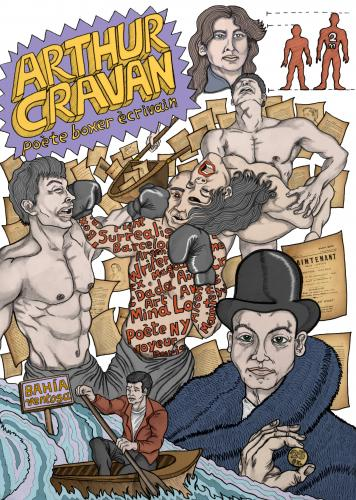Cartoon: Arthur Cravan (medium) by javierhammad tagged illustration,poet,boxer,dada,surreal,imagination,writer,illustration,illustrationen,surreal,sex,mann,frau,männer,frauen,poet,dada,auto,schriftstelelr