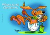 Cartoon: Osterthemes (small) by Egon58 tagged eier,hasen,ostern,frühling