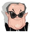 Cartoon: Jack Nicholson (small) by FARTOON NETWORK tagged movie actors