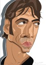 Cartoon: Javier Bardem (small) by FARTOON NETWORK tagged javier,bardem,caricature,movie,star,cinema,biutiful