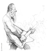 Cartoon: James Hetfield (small) by cosminpodar tagged caricature