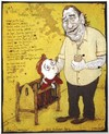 Cartoon: Childs Bedtime Story (small) by Glyn Crowder tagged charles,bukowski