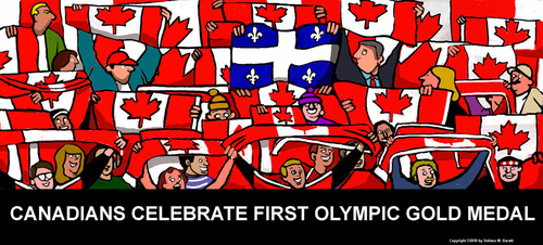 Cartoon: Vancouver 2010 (medium) by perugino tagged canada,olympics