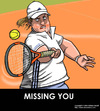 Cartoon: Greeting Cards (small) by perugino tagged tennis,sports
