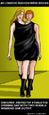 Cartoon: Pret a Porter (small) by perugino tagged fashion,models,couture,catwalk
