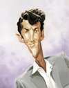 Cartoon: Dean Martin (small) by doodleart tagged dean,martin