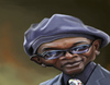 Cartoon: Samuel L Jackson (small) by doodleart tagged samuel,jackson