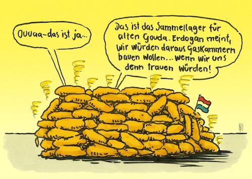 Cartoon: gaskammern (medium) by Andreas Prüstel tagged türkei,erdogan,europa,niederlande,nazivergleiche,sammellager,gaskammern,gouda,käse,cartoon,karikatur,andreas,pruestel,türkei,erdogan,europa,niederlande,nazivergleiche,sammellager,gaskammern,gouda,käse,cartoon,karikatur,andreas,pruestel