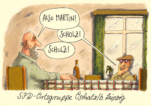 Cartoon: spd today (medium) by Andreas Prüstel tagged spd,sigmar,gabriel,martin,schulz,kanzlerkandidat,parteivorsitz,olaf,scholz,ortsgruppe,oschatz,sachsen,cartoon,karikatur,spd,sigmar,gabriel,martin,schulz,kanzlerkandidat,parteivorsitz,olaf,scholz,ortsgruppe,oschatz,sachsen,cartoon,karikatur
