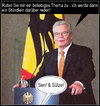 Cartoon: ... (small) by Andreas Prüstel tagged gauck,senf,sülze,bundespräsident,cartoon,collage,andreas,pruestel