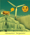Cartoon: energiebild (small) by Andreas Prüstel tagged alternativenergien