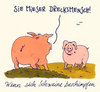 Cartoon: schweine (small) by Andreas Prüstel tagged schweine,beschimpfungen,cartoon,andreas,prüstel